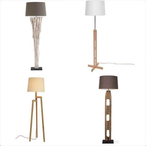 lampadaire pied en bois achat pas cher avec kibodio