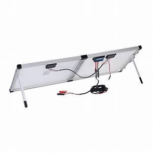 New 12v 120w Folding Solar Panel Kit Mono Caravan Boat