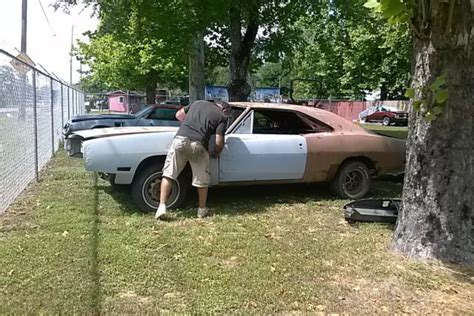 1969 dodge charger r t rolling chasis project car all paperwork there