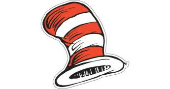 cat in the hat hat dr seuss the cat s hat cutouts birthdayexpress