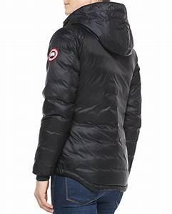 Lyst Canada Goose Camp Hooded Puffer Coat In Black