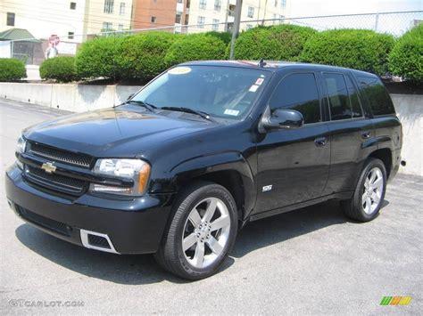 2008 Black Chevrolet Trailblazer Ss 4x4 #16218133 Photo #2