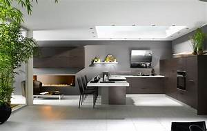 23 very beautiful french kitchens for Modern house kitchen interior design