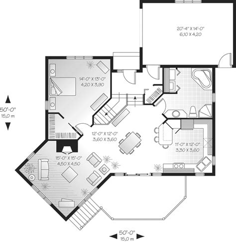 Merryall Modern Lakehouse Home Plan 032D-0514 | House ...
