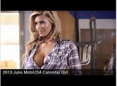 2013 June MotoUSA Calendar Girl YouTube