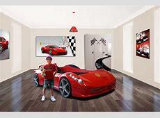 Car bed Ferrari Home Decor Pinterest Car Bedroom