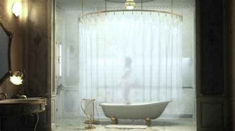 clawfoot tub bathroom ideas shower rod signature hardware for any shower