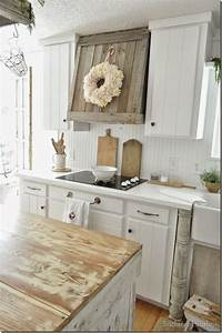 25 best ideas about farmhouse kitchens on pinterest With kitchen colors with white cabinets with french shabby chic wall art