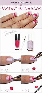 15 Easy & Simple Valentine's Day Nails Tutorials For ...