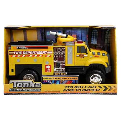 tonka mighty motorized fire truck tonka mighty motorized vehicle emergency toy transporter
