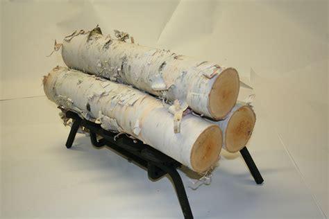 Decorative Birch Logs - decorative firewood bloggerluv