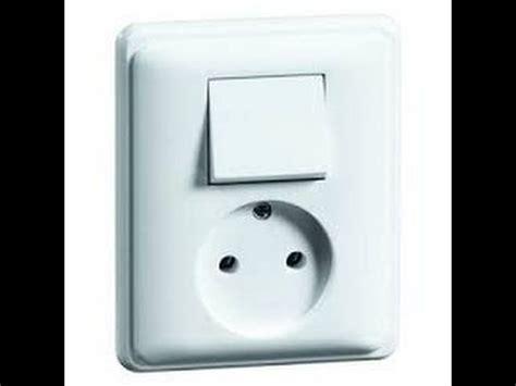 prise et interrupteur schema interrupteur simple allumage avec prise de courant