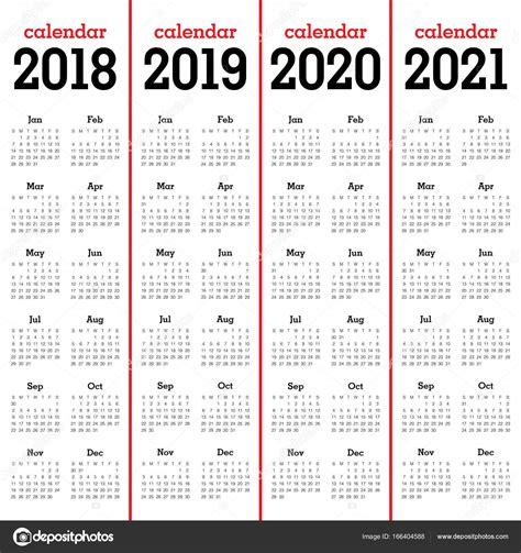 vector de calendario ano vector de