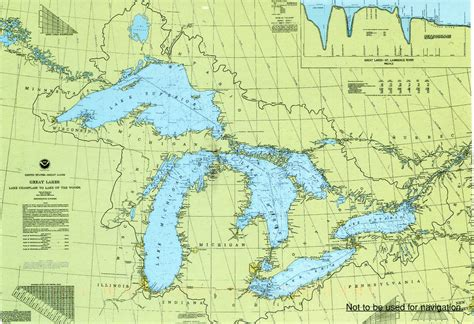 great lakes map remembering letters and postcards