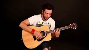 Acoustic slap/ pop guitar - YouTube