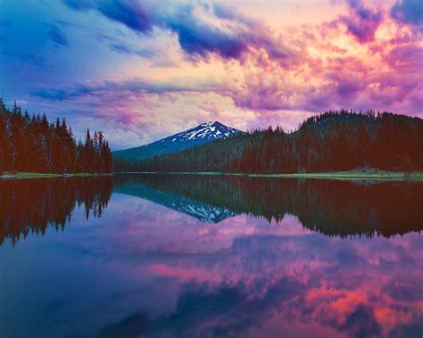todd lake sunset fine art photograph mike putnam