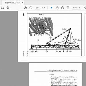 Terex Mobile Crane Ac700 Shop Manual