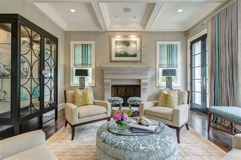 classic chic living room transitional living room st