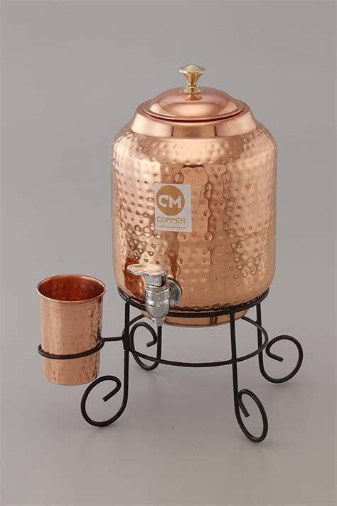 copper water container matkapot lt vedic mart