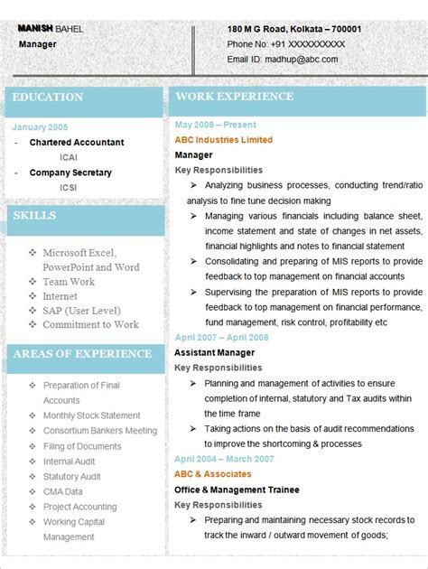 Best Accounting Graduate Resume by Accounting Resume Template Health Symptoms And Cure