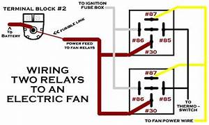 Wiring Two Fan Relays