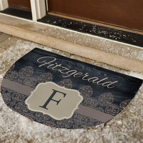 personalized family doormats personalized vintage family doormat giftsforyounow