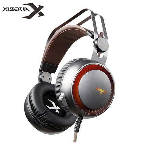 best headset with mic xiberia k11 usb gaming headset gamer best stereo glowing