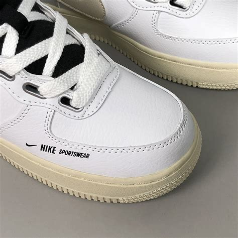 b49509ca4469 1000 x 1000 www.hoopjordan.net. Nike Air Force 1 High Utility White Black  For Sale ...