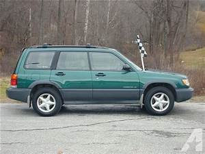 1999 Subaru Forester L For Sale In Pownal  Vermont Classified