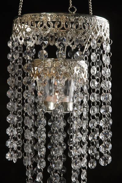 crystal candle holder chandelier
