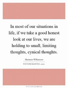 In most of our ... Good Honest Quotes