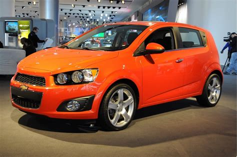 2012 Chevrolet Sonic Preview