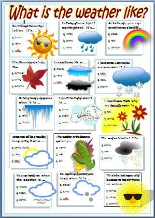 25+ Best Ideas About Weather Worksheets On Pinterest  Seasons Kindergarten, Weather For Kids