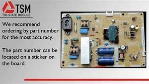 Samsung Power Supply Bn44-00493a - Tri-state Module