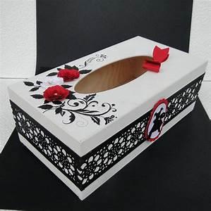 Boite Mouchoir Deco : bo te de kleenex deco scrap pinterest mouchoirs boite mouchoir et boite ~ Melissatoandfro.com Idées de Décoration