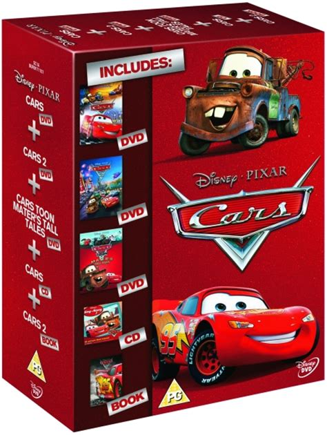 Cars 1, 2 And Cars Toon Mater's Tall Tales Gift Set