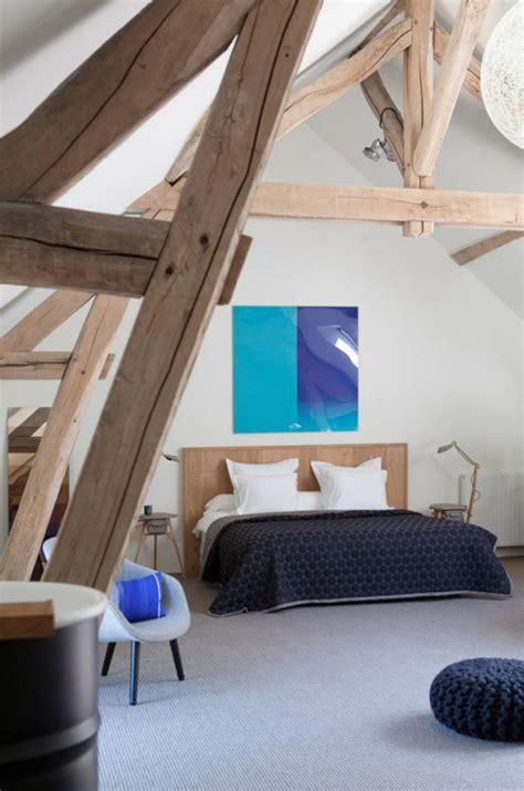 deco chambre avec poutre apparente la tendance poutres apparentes 41 bons exemples