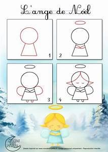 1000 idees sur le theme anges de noel sur pinterest With dessin de maison facile 3 apprendre 224 dessiner un ange
