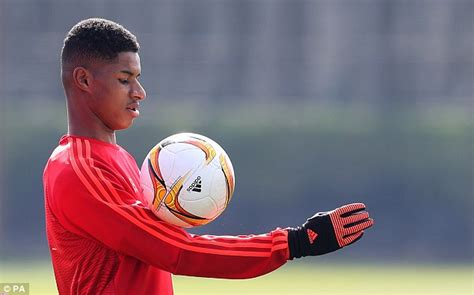 Manchester United starlet Marcus Rashford to earn call up ...