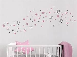 Wandtattoo Kinderzimmer Schmetterlinge : wandtattoo zweifarbige sterne sternenhimmel ~ Sanjose-hotels-ca.com Haus und Dekorationen