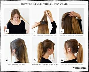 Ponytail Hairstyles with Tutorials for Short & Long Hair Trendy Ponytails
