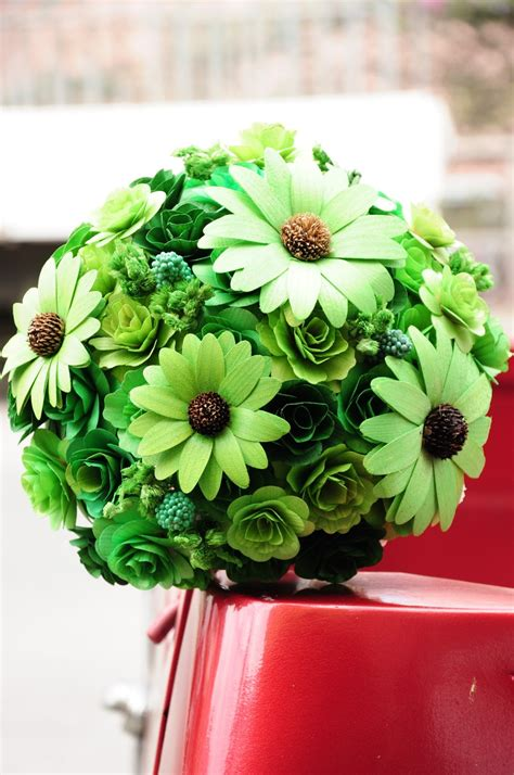 wholesale wedding bouquets   wooden flowers reduce