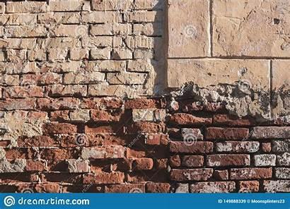Brick Urban Retro Grunge Texture Backdrop Abstract