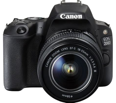 Buy Canon Eos 200d Dslr Camera With Efs 1855 Mm F355