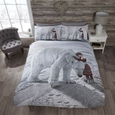 Anoushka   Christmas   Polar Bear   Quilt     Tonys Textiles