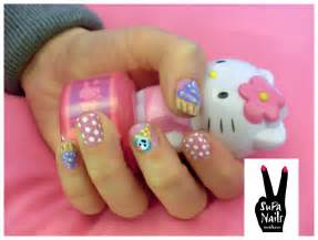 Cute birthday nails supa