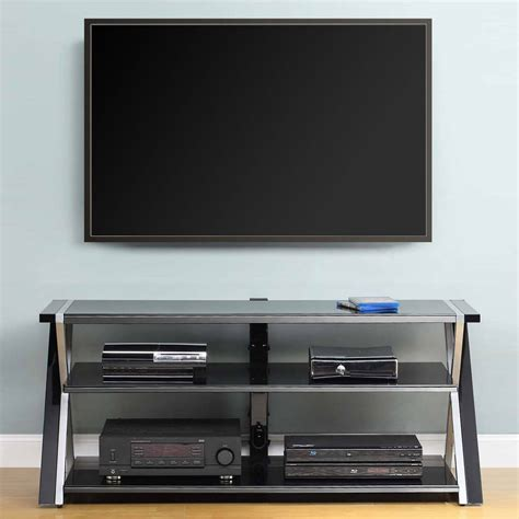 65 inch sofa table black glass tv stand 65 inch flat screen entertainment