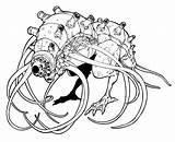 Disegni Mostri Colorare Da Stampare Monster Coloring sketch template