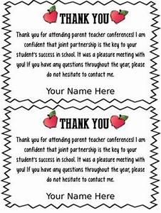 FREEBIE EDITABLE PARENT TEACHER CONFERENCE FORMS & THANK