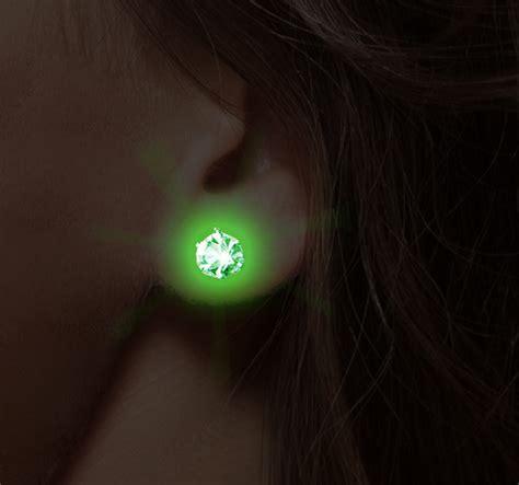 light up earrings pair of led light up pair of earrings